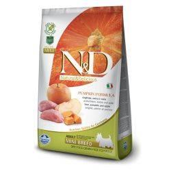 N&D Grain Free formula Canină Dovleac Mistreț și Măr Adult Mini 2.5 Kg