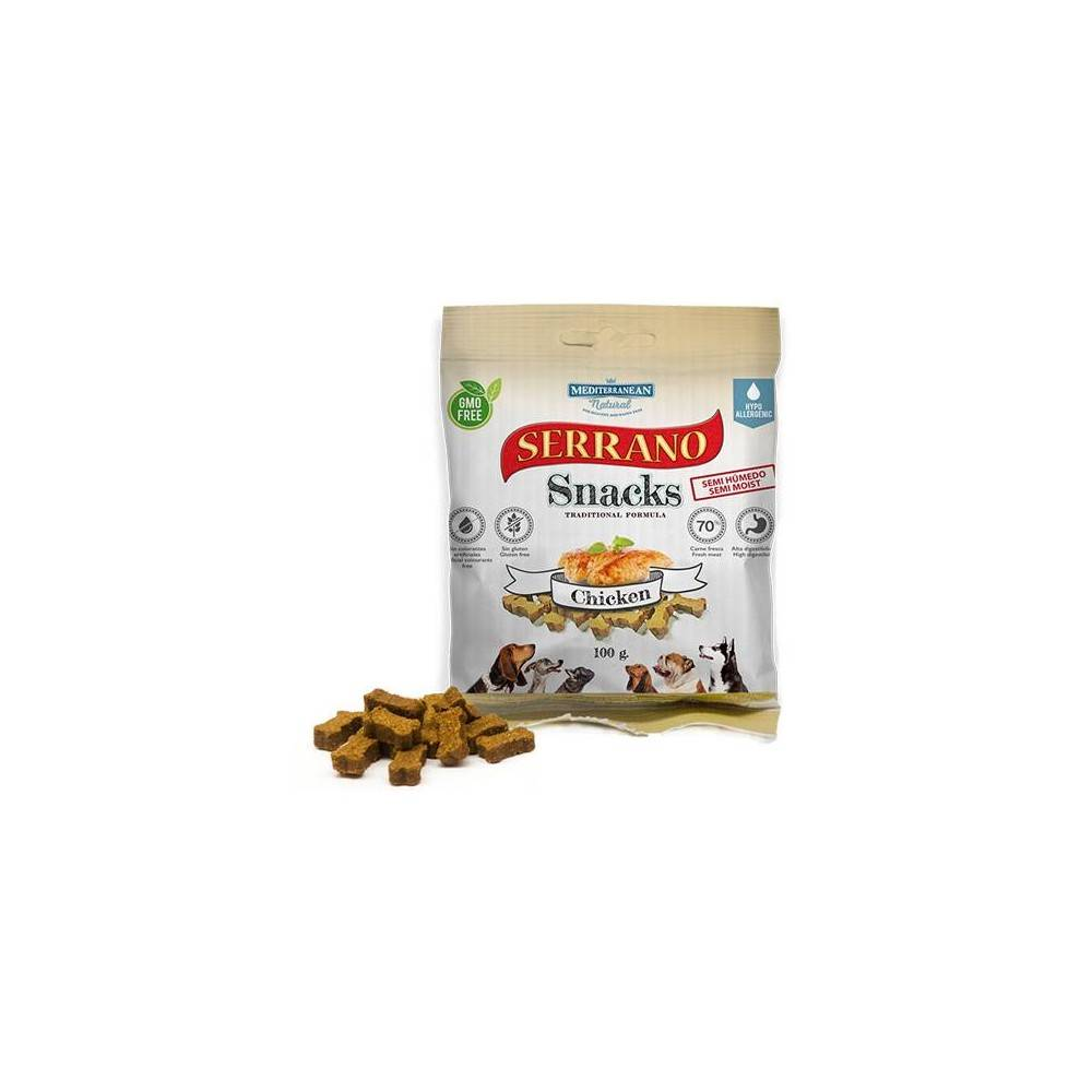 SERRANO Dog Snacks. Chicken 100gr