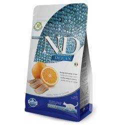 N&D Grain Free Ocean. Hering & Portocală Pisici Adulte