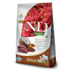 N&D Grain Free Quinoa Vânat Piele & Blană Câine Adult 7 Kg