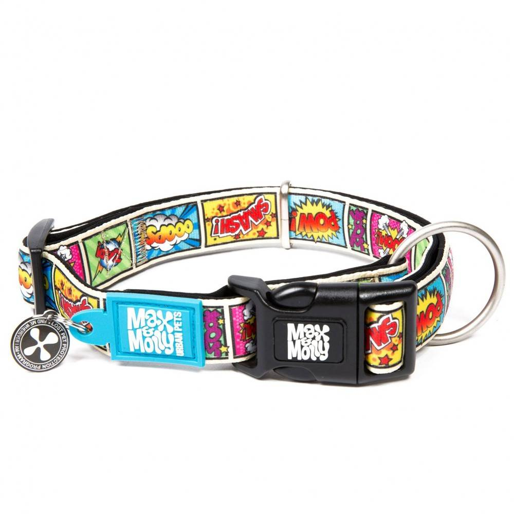 Max & Molly Comic Collar