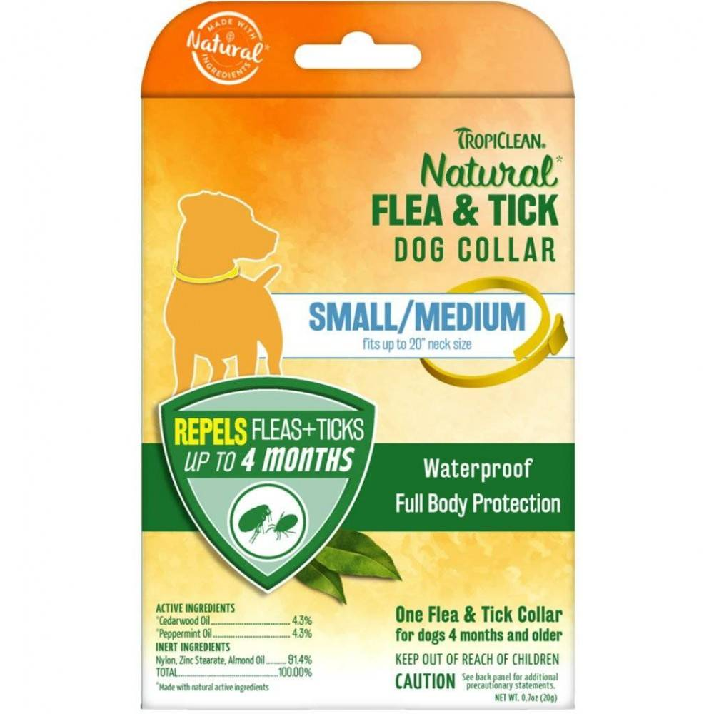 TropiClean Natural Flea and Tick Collar for Dogs