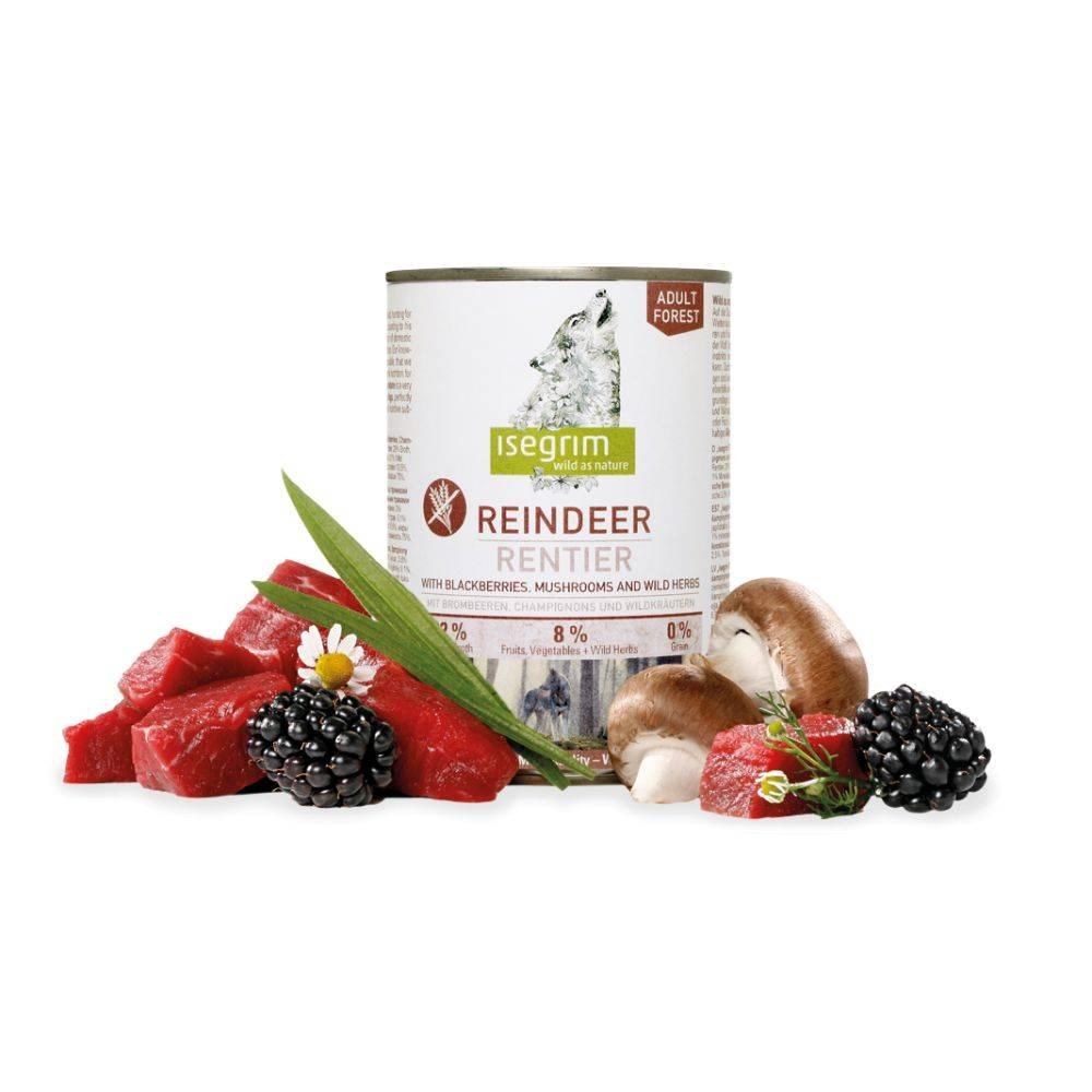 ISEGRIM Forest Reindeer + Blackberries, Mushrooms & Wild Herbs