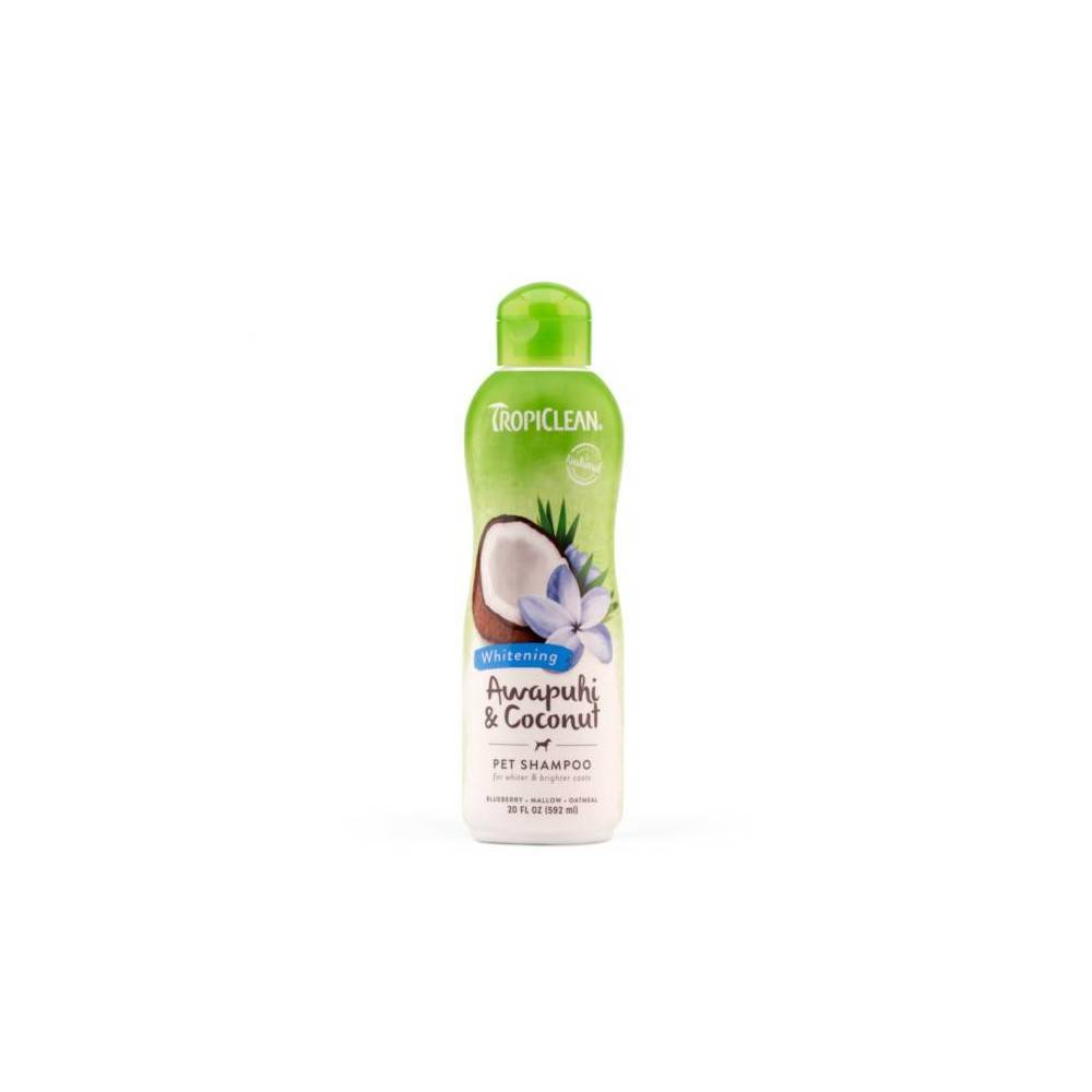 TropiClean Awapuhi & Coconut Pet Shampoo for Dogs and Cats