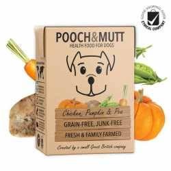 Pooch & Mutt Grain Free Pui, Dovleac și Mazăre