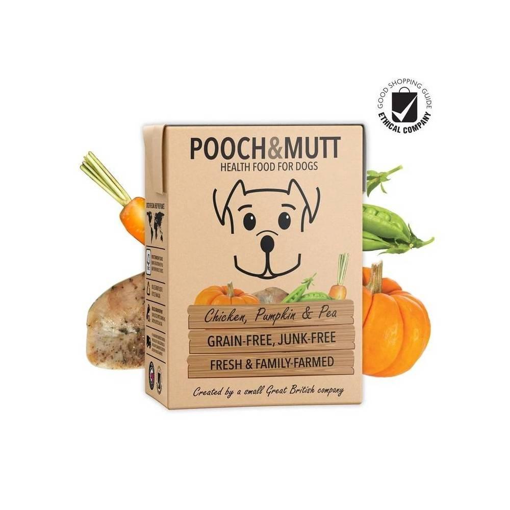 Pooch & Mutt Grain Free Chicken, Pumpkin & Pea