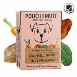 Pooch & Mutt Grain Free Turkey & Chicken