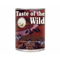 Taste of the Wild Southwest Canyon® Formulă Canină cu Mistreț Sălbatic în Sos 390g