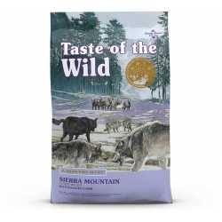 Taste of the Wild Sierra Mountain® Formulă Canină cu Miel la Cuptor 2kg