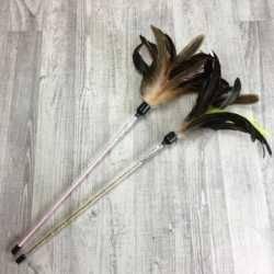 Cat Boutique Pămătuf cu Pene pentru Puii de Pisică