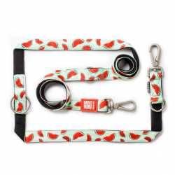 Max & Molly Watermelon. Lesă Câine Multifuncțională