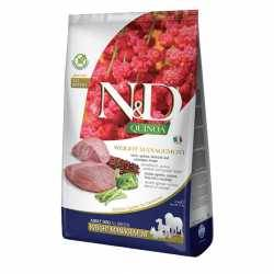 N&D Grain Free Quinoa Canine. Weight Management Lamb. Câine Adult 7 Kg