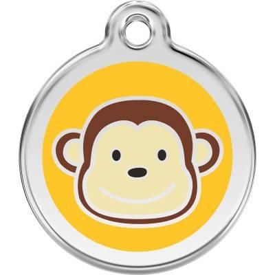 Medalioane Caini Monkey Red Dingo