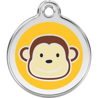 Red Dingo Medalioane Emailate Monkey