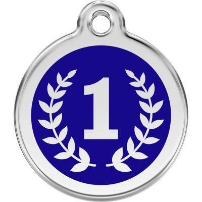 Red Dingo Medalioane Emailate Winner Dark Blue