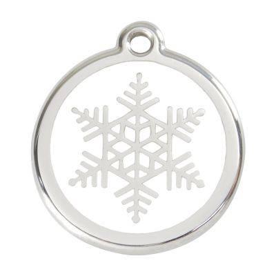 Medalioane Caini Snow Flake White Red Dingo