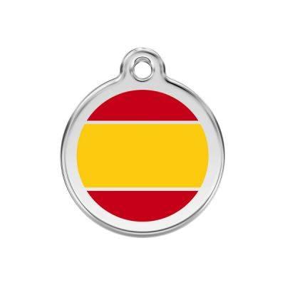 Medalioane Caini Spanish Flag Yellow Red Dingo