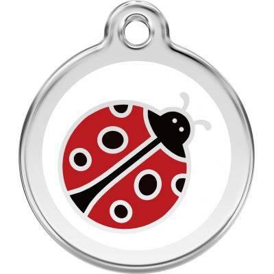Medalioane Caini Ladybug Red Dingo