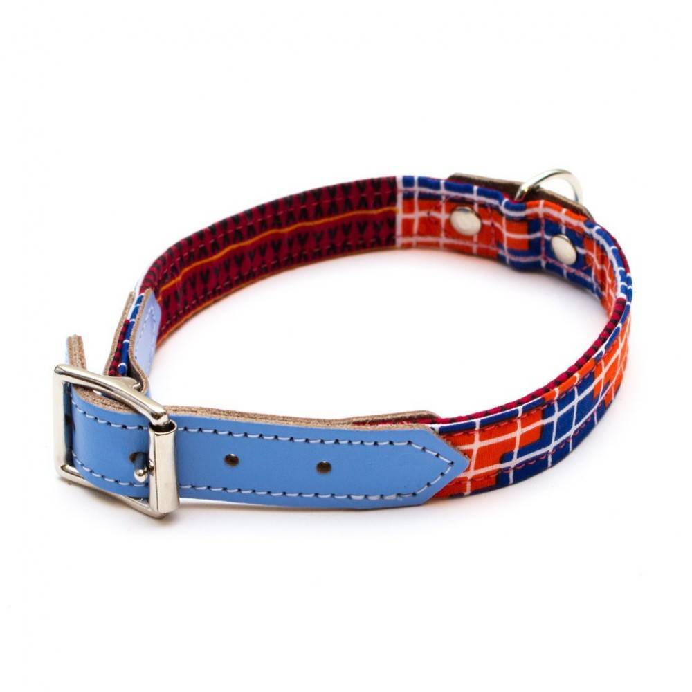 Hiro + Wolf Banda Dog Collar