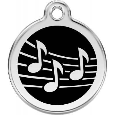 Medalioane Caini Music Red Dingo