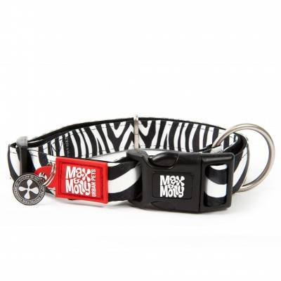 Zgarda Caini Little Zebra Max & Molly