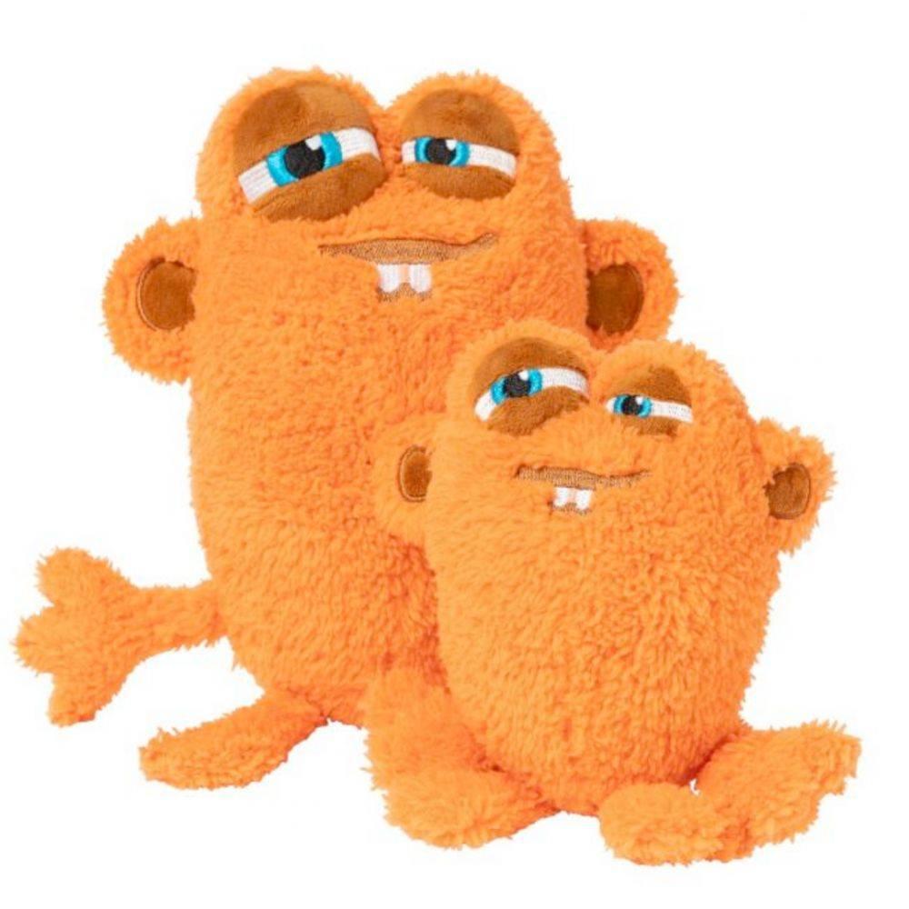 Jucarie de Plus pentru Caini The Yardsters Oobert Orange FuzzYard